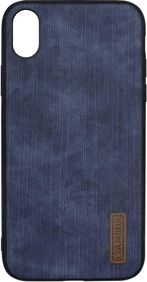 Чехол (клип-кейс)  Lyambda Reya, для Apple iPhone XS Max, синий [la07-re-xsm-bl]