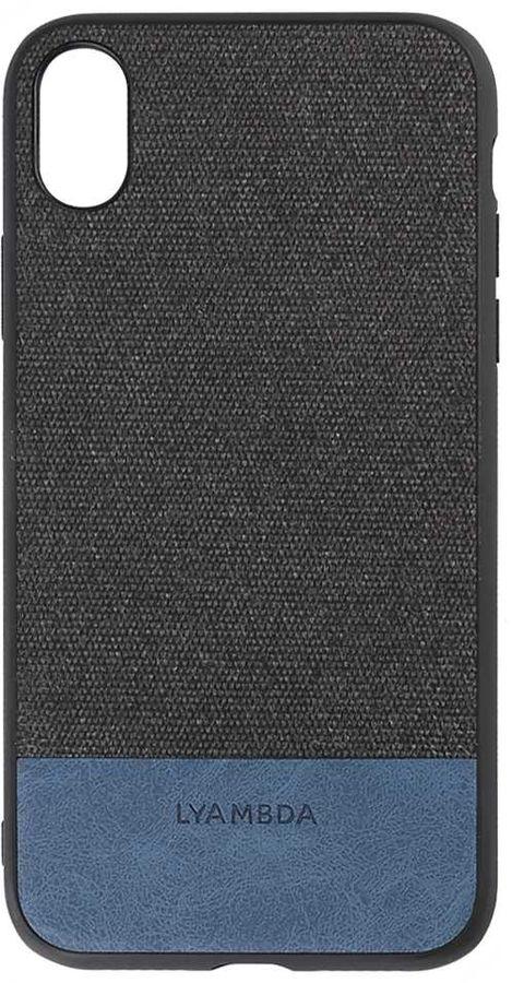 Чехол (клип-кейс)  LYAMBDA CALYPSO, для Apple iPhone XR, черный [la03-cl-xr-bk]