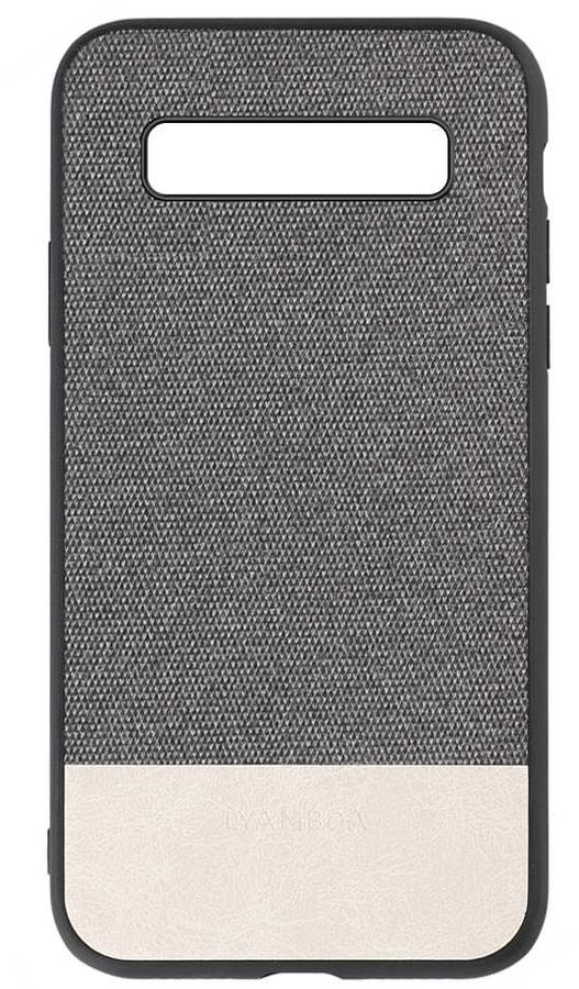 Чехол (клип-кейс)  Lyambda Calypso, для Samsung Galaxy S10, серый [la03-cl-s10-gr]