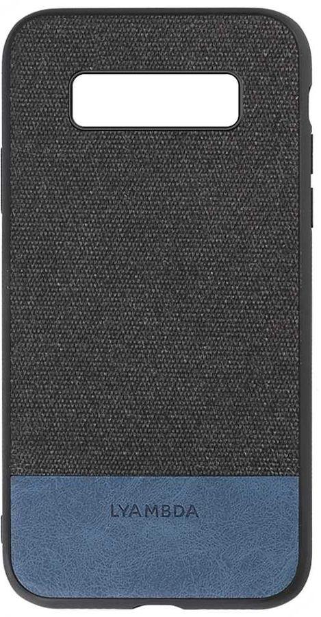 Чехол (клип-кейс)  Lyambda Calypso, для Samsung Galaxy S10e, черный [la03-cl-s10e-bk]
