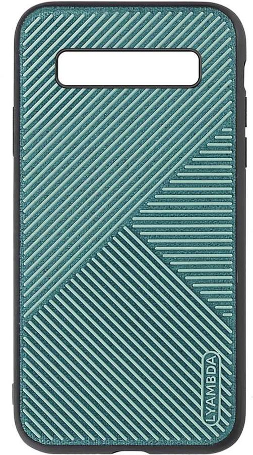 Чехол (клип-кейс)  Lyambda Atlas, для Samsung Galaxy S10+, зеленый [la10-at-s10p-gr]