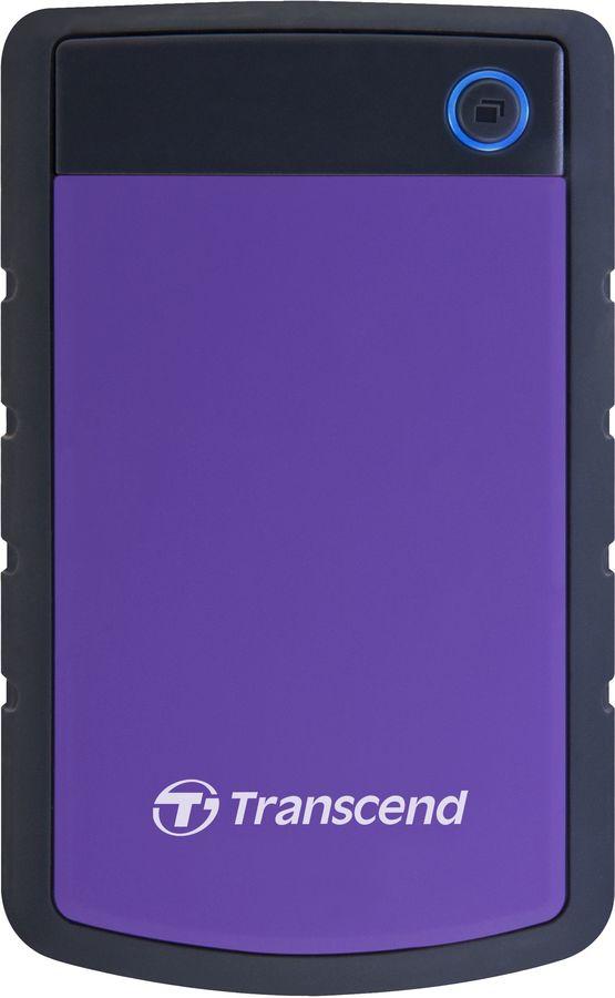 Внешний жесткий диск TRANSCEND StoreJet 25H3 TS4TSJ25H3P, 4Тб, фиолетовый