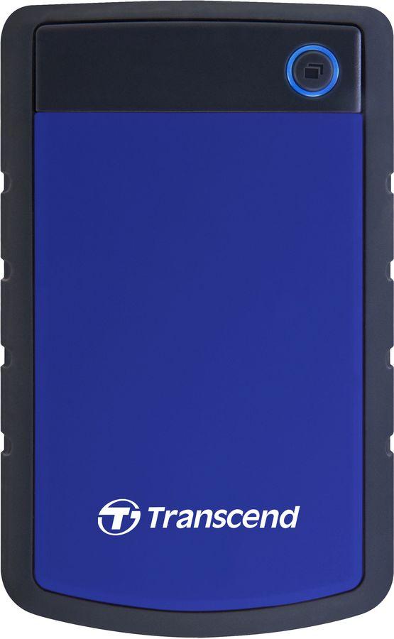 Внешний жесткий диск TRANSCEND StoreJet 25H3 TS4TSJ25H3B, 4Тб, синий