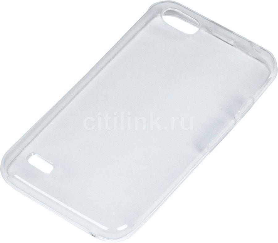 Чехол (клип-кейс)  для Digma HIT Q401 3G, прозрачный [60168]