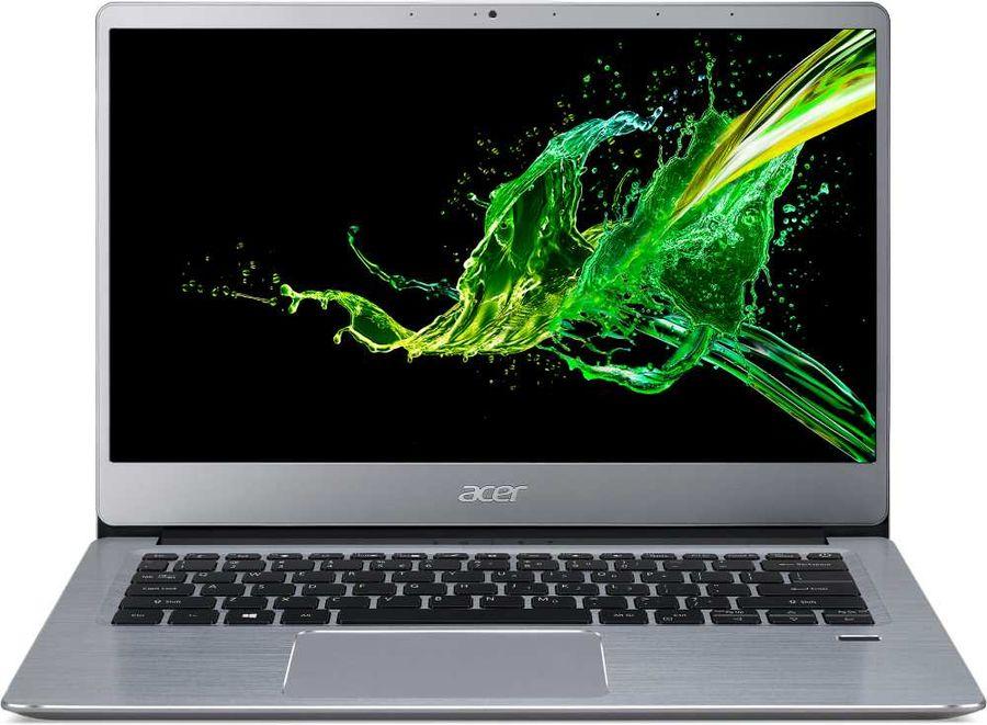 "Ультрабук ACER Swift 3 SF314-58-30BG, 14"",  IPS, Intel  Core i3  10110U 2.1ГГц, 8Гб, 256Гб SSD,  Intel UHD Graphics , Windows 10, NX.HPMER.006,  серебристый"