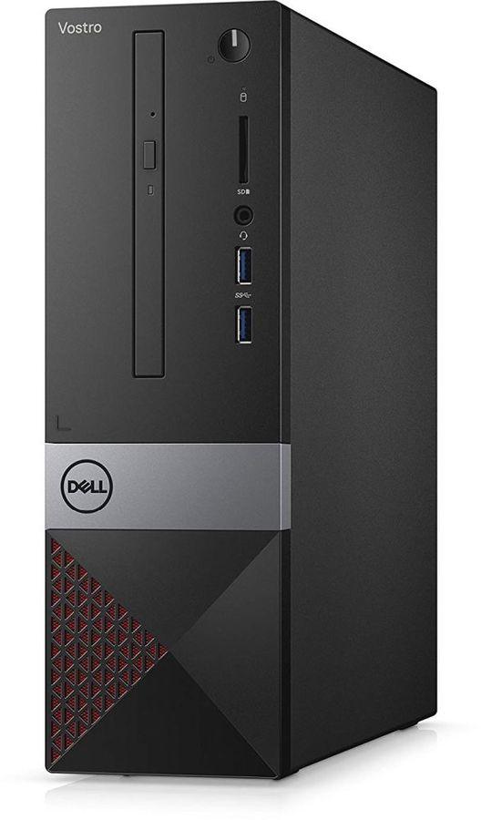 Компьютер  DELL Vostro 3470,  Intel  Core i3  9100,  DDR4 4Гб, 1000Гб,  Intel UHD Graphics 630,  DVD-RW,  CR,  Linux,  черный [3470-3523]