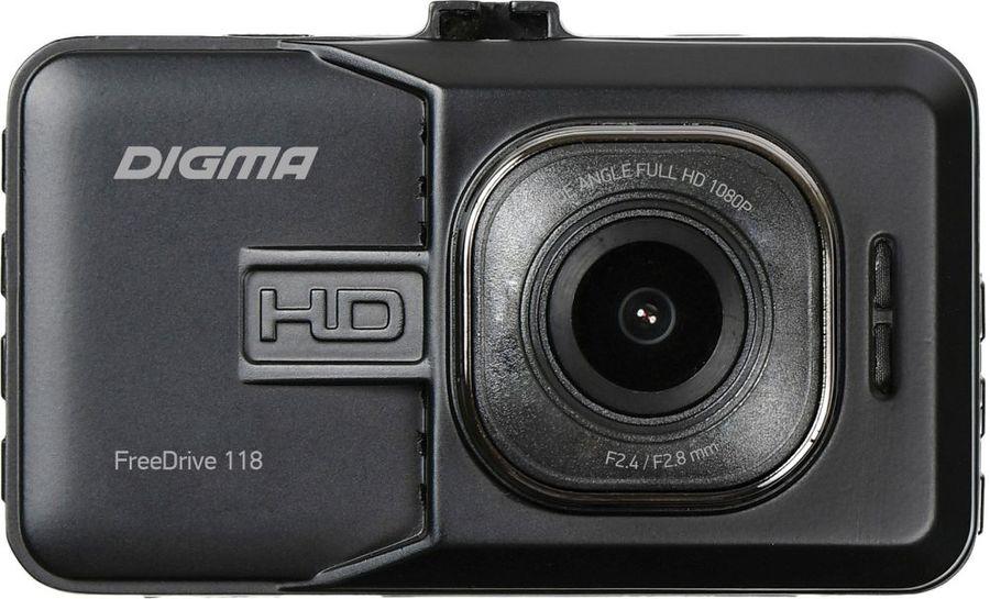 Видеорегистратор DIGMA FreeDrive 118,  черный [fd118]