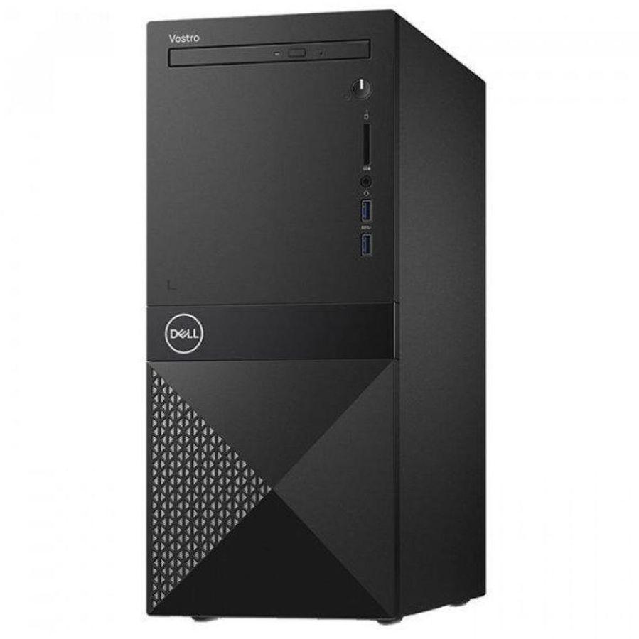 Компьютер  DELL Vostro 3670,  Intel  Core i3  9100,  DDR4 4Гб, 1000Гб,  Intel UHD Graphics 630,  DVD-RW,  CR,  Linux Ubuntu,  черный [3670-3608]