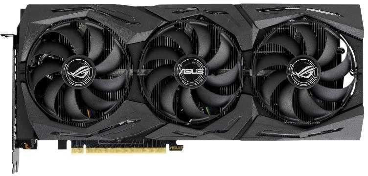 Видеокарта ASUS nVidia  GeForce RTX 2080SUPER ,  ROG-STRIX-RTX2080S-O8G-GAMING,  8Гб, GDDR6, OC,  Ret