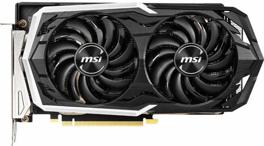 Видеокарта MSI nVidia  GeForce RTX 2060SUPER ,  RTX 2060 SUPER ARMOR,  8Гб, GDDR6, Ret