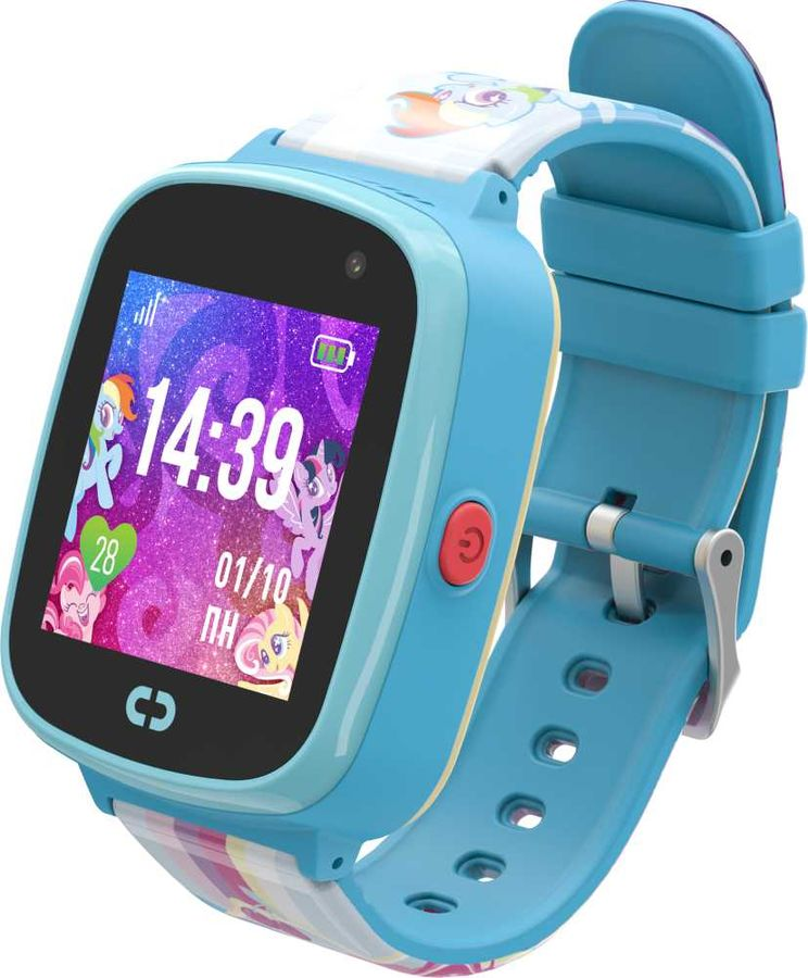 "Смарт-часы JET Kid My Little Pony,  40мм,  1.44"",  голубой / голубой"