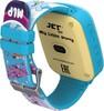 """Смарт-часы JET Kid My Little Pony,  40мм,  1.44"""",  голубой / голубой вид 5"""