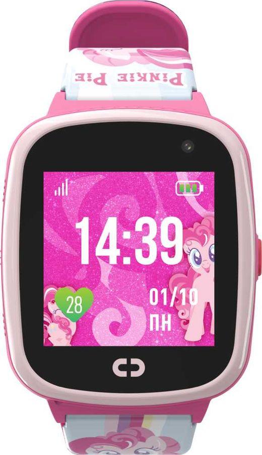 """Смарт-часы JET Kid Pinkie Pie,  40мм,  1.44"""",  розовый / розовый"""