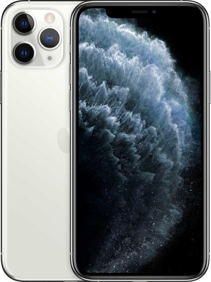 Смартфон APPLE iPhone 11 Pro 64Gb,  MWC32RU/A,  серебристый