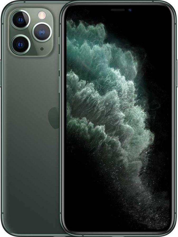 Смартфон APPLE iPhone 11 Pro 64Gb,  MWC62RU/A,  темно-зеленый