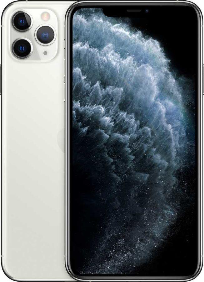 Смартфон APPLE iPhone 11 Pro Max 64Gb,  MWHF2RU/A,  серебристый