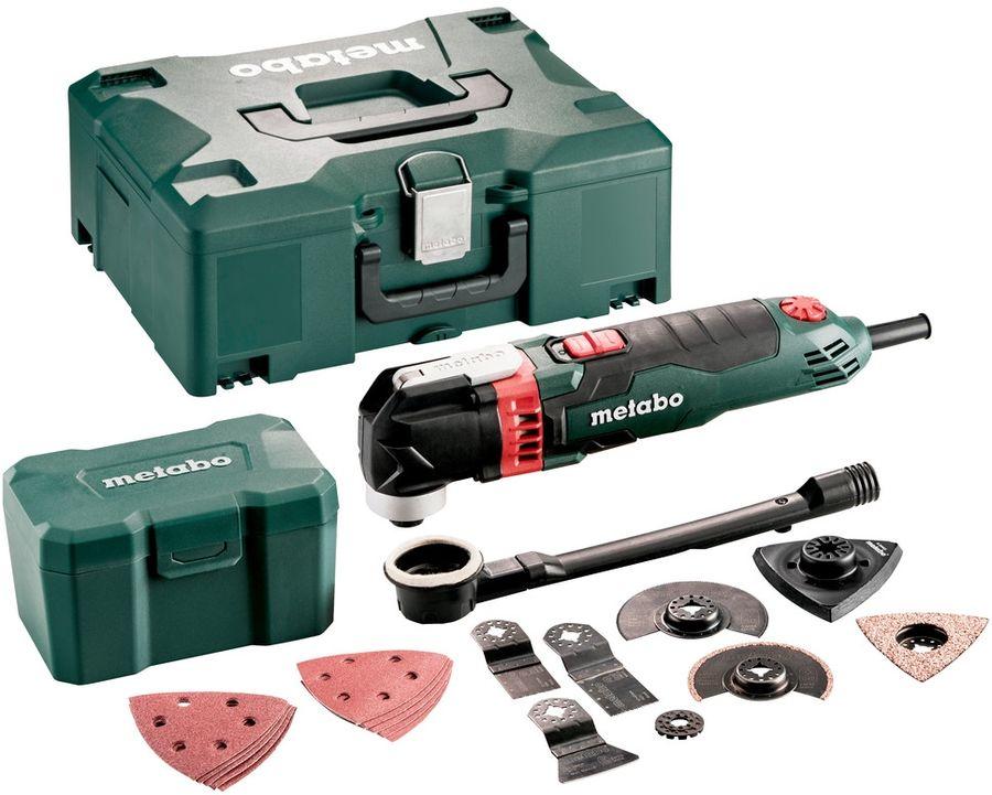 Многофункциональный инструмент METABO MT 400 Quick, зеленый [601406700]