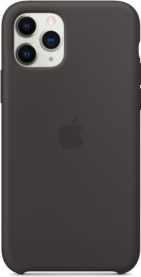Чехол (клип-кейс) APPLE Silicone Case, для Apple iPhone 11 Pro, черный [mwyn2zm/a]