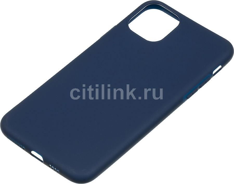 Чехол (клип-кейс) GRESSO Meridian, для Apple iPhone 11 Pro Max, темно-синий [gr17mrn706]