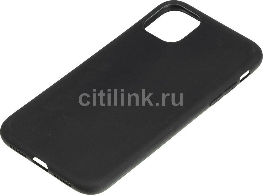 Чехол (клип-кейс) GRESSO Meridian, для Apple iPhone 11, черный [gr17mrn703]