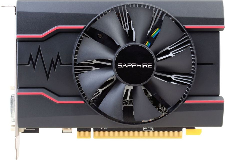 Видеокарта SAPPHIRE AMD  Radeon RX 550 ,  11268-06-20G RX 550 2G OC,  2Гб, GDDR5, Ret
