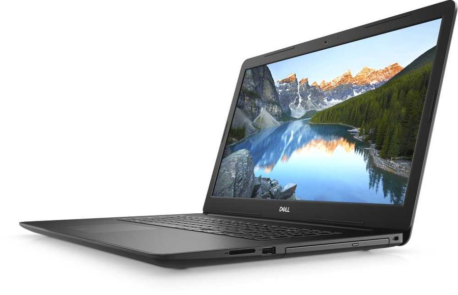 "Ноутбук DELL Inspiron 3793, 17.3"",  IPS, Intel  Core i7  1065G7 1.3ГГц, 8Гб, 1000Гб,  128Гб SSD,  nVidia GeForce  MX230 - 2048 Мб, DVD-RW, Windows 10, 3793-8177,  черный"