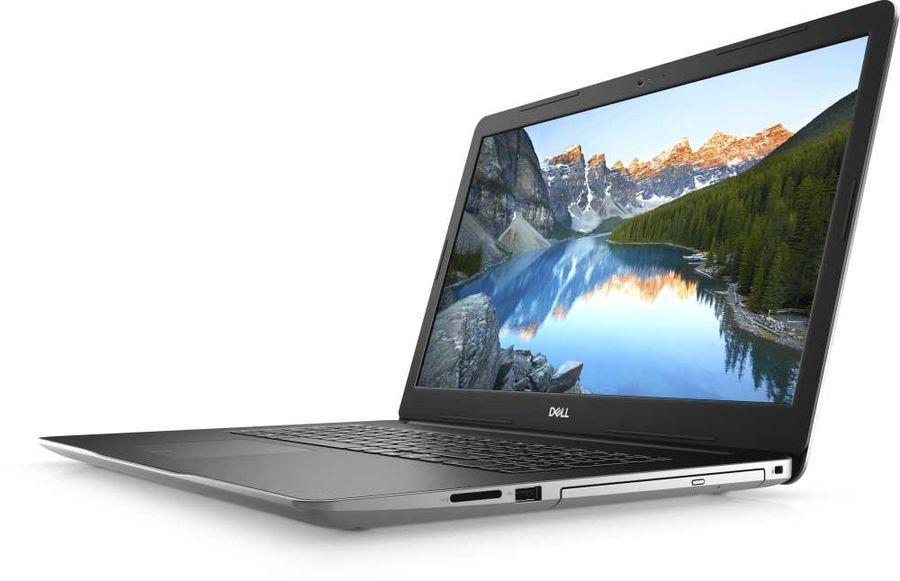 "Ноутбук DELL Inspiron 3793, 17.3"",  IPS, Intel  Core i7  1065G7 1.3ГГц, 8Гб, 1000Гб,  128Гб SSD,  nVidia GeForce  MX230 - 2048 Мб, DVD-RW, Windows 10, 3793-8184,  серебристый"