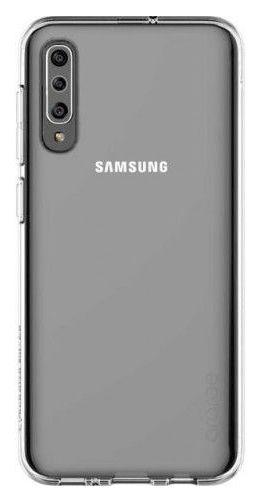 Чехол (клип-кейс) SAMSUNG araree A cover, для Samsung Galaxy A30s, прозрачный [gp-fpa307kdatr]
