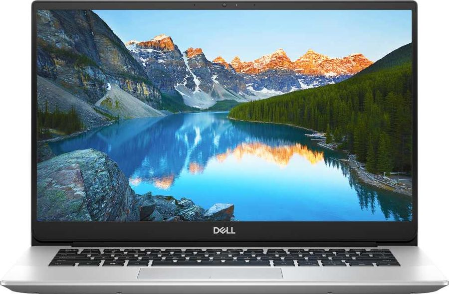 "Ноутбук DELL Inspiron 5490, 14"",  IPS, Intel  Core i3  10110U 2.1ГГц, 4Гб, 128Гб SSD,  Intel UHD Graphics , Linux, 5490-8351,  серебристый"