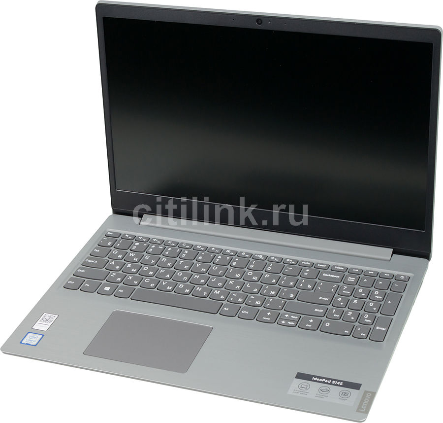 "Ноутбук LENOVO IdeaPad S145-15IWL, 15.6"",  Intel  Core i3  8145U 2.1ГГц, 8Гб, 16Гб Intel Optane,  256Гб SSD,  Intel UHD Graphics  620, Windows 10, 81MV01BVRU,  серый"