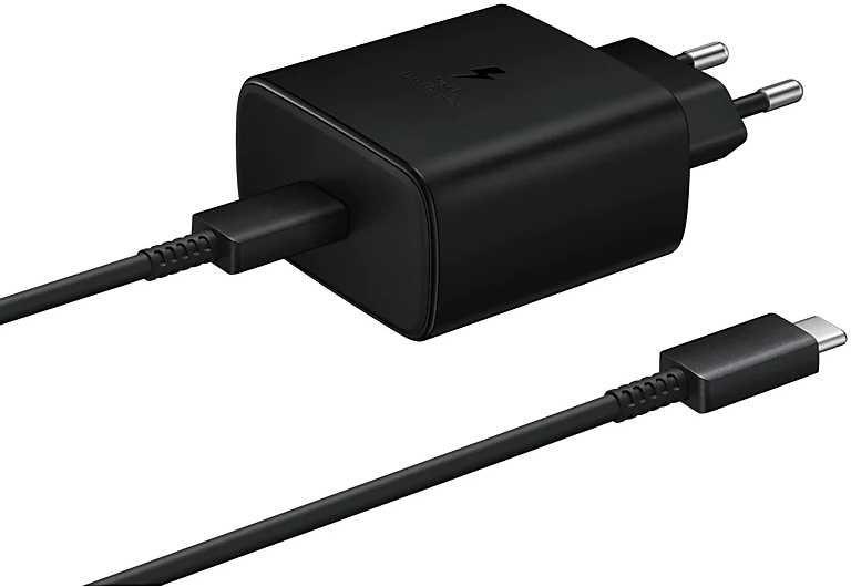 Сетевое зарядное устройство SAMSUNG EP-TA845,  USB type-C,  USB type-C,  3A,  черный