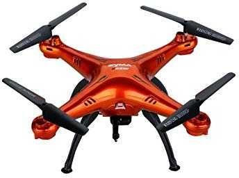 Квадрокоптер SYMA X5SC с камерой,  оранжевый [х5sс]