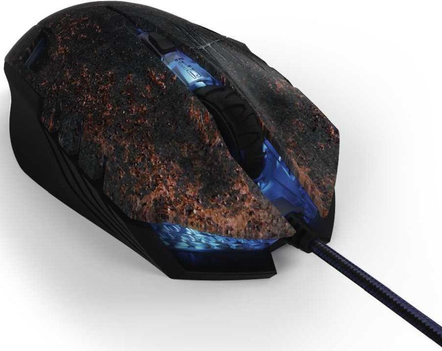 Мышь HAMA uRage Morph-Apocalypse, игровая, оптическая, проводная, USB, черный [00113773]