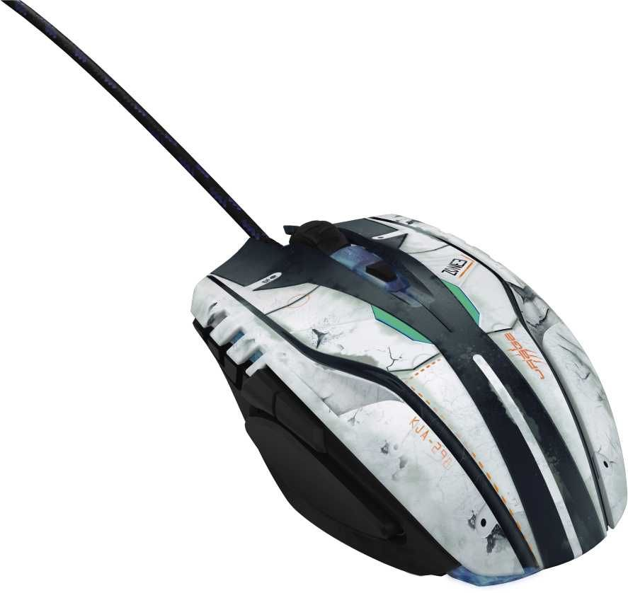 Мышь HAMA uRage Morph-SciFi, игровая, оптическая, проводная, USB, черный [00113774]