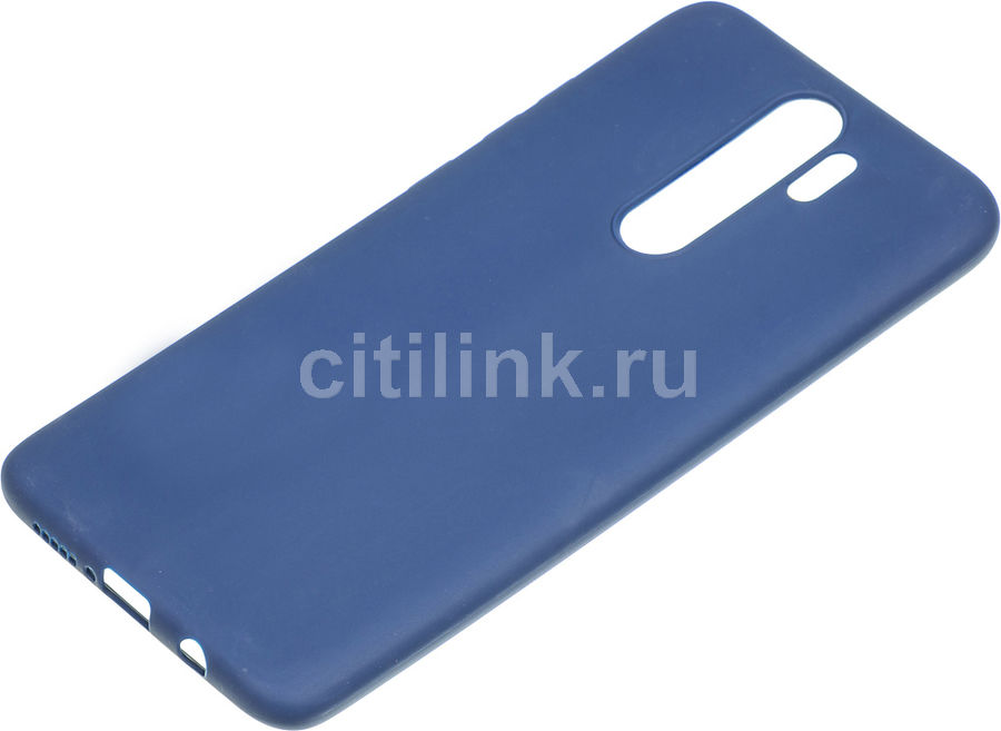 Чехол (клип-кейс) GRESSO Meridian, для Xiaomi Redmi Note 8 Pro, темно-синий [gr17mrn694]