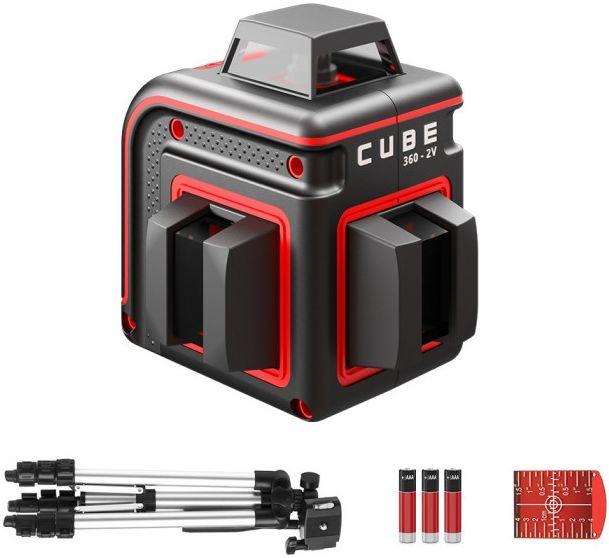 Лазерный нивелир ADA Cube 360-2V Professional Edition [а00570]