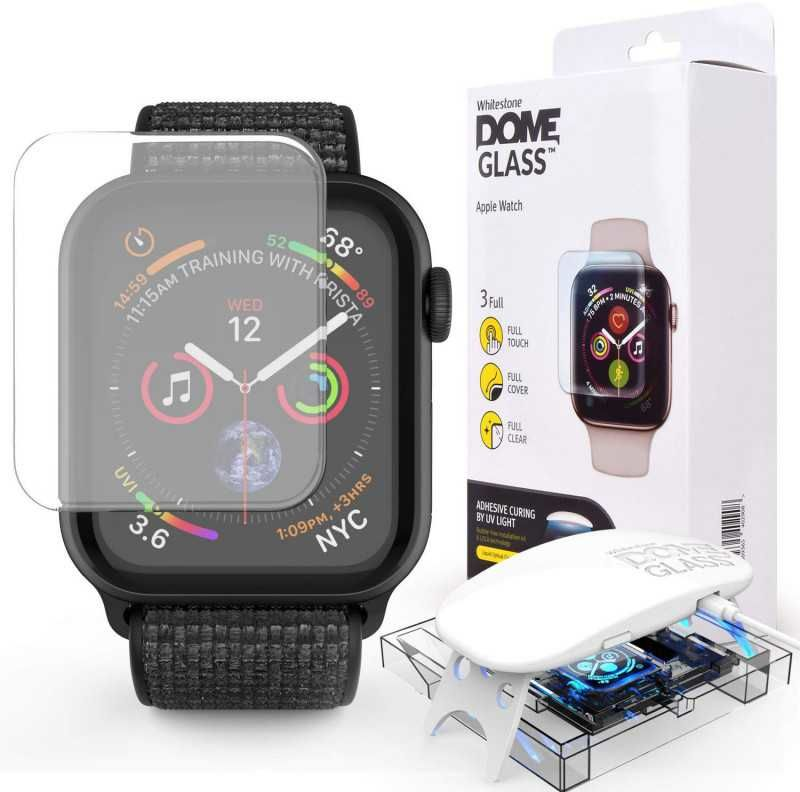 "Стекло защитное WhiteStone Dome для Apple Watch Series 4/5 44"""