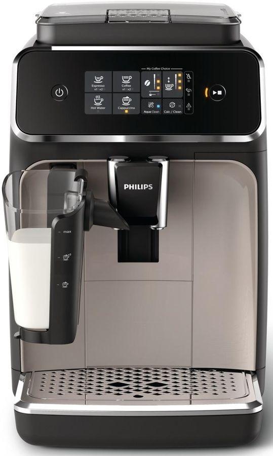 Кофемашина PHILIPS EP2035/40,  черный/серебристый