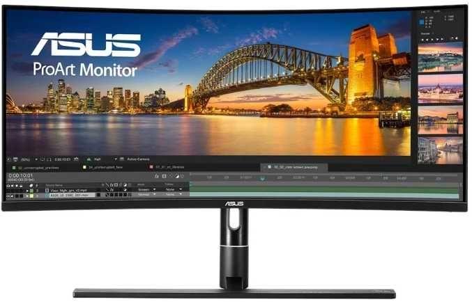 """Монитор ASUS ProArt PA34VC 34"""", черный [90lm04a0-b01370]"""