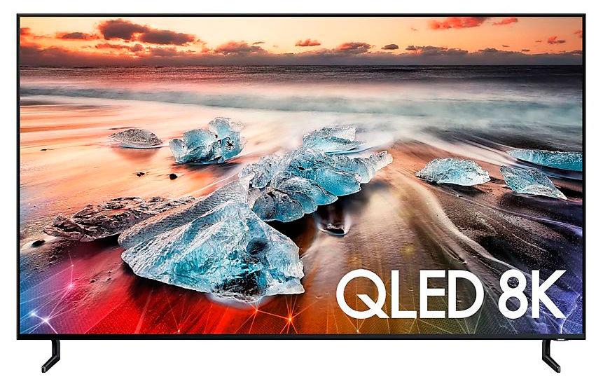 QLED телевизор SAMSUNG QE55Q900RBUXRU Ultra HD 8K