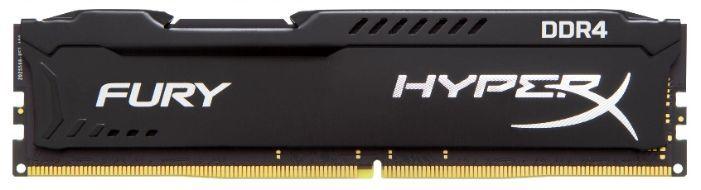 Модуль памяти KINGSTON HyperX FURY Black HX424C15FB3/8 DDR4 -  8Гб 2400, DIMM,  Ret