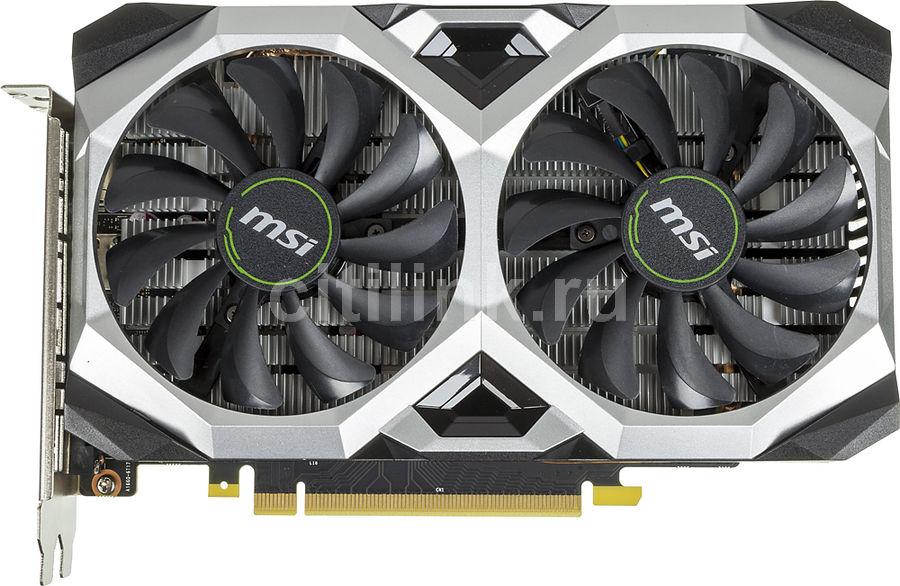 Видеокарта MSI nVidia  GeForce GTX 1660SUPER ,  GTX 1660 SUPER VENTUS XS OCV1,  6Гб, GDDR6, OC,  Ret