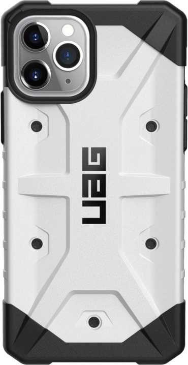 Чехол (клип-кейс) UAG PATHFINDER, для Apple iPhone 11 Pro, белый/черный [111707114141]
