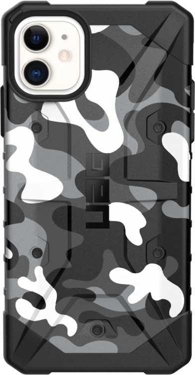 Чехол (клип-кейс) UAG Pathfinder, для Apple iPhone 11, белый/камуфляж [111717114060]