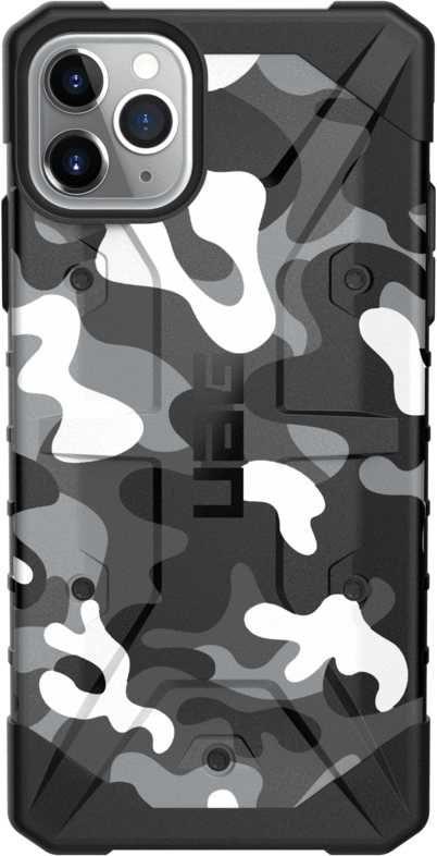 Чехол (клип-кейс) UAG Pathfinder, для Apple iPhone 11 Pro Max, белый/камуфляж [111727114060]