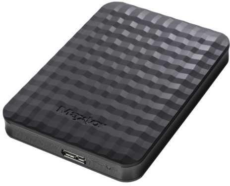 Внешний жесткий диск SEAGATE Maxtor M3 Portable STSHX-M401TCBM, 4Тб, черный