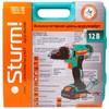 Дрель-шуруповерт STURM! CD3212L,  2Ач,  с двумя аккумуляторами вид 8