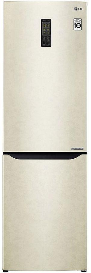Холодильник LG GA-B419SEUL,  двухкамерный, бежевый