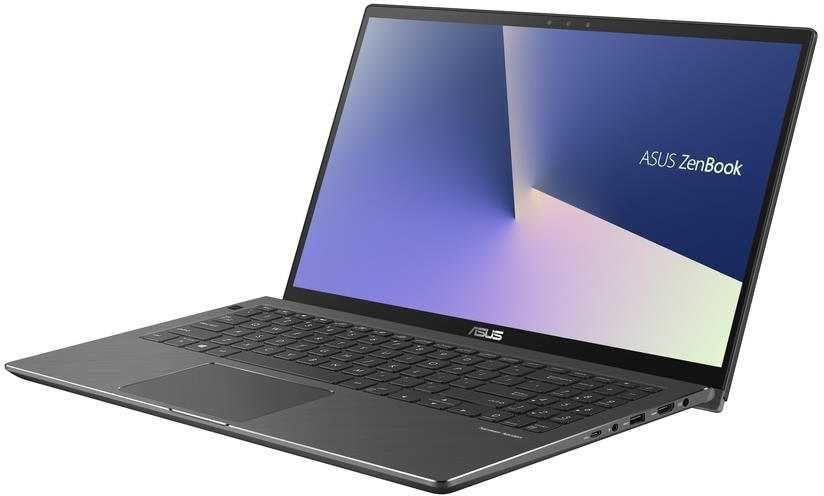 """Ноутбук-трансформер ASUS Zenbook UX562FD-EZ068R, 15.6"""",  Intel  Core i5  8265U 1.6ГГц, 12Гб, 256Гб SSD,  nVidia GeForce  GTX 1050 MAX Q - 2048 Мб, Windows 10 Professional, 90NB0JS1-M01100,  серый"""
