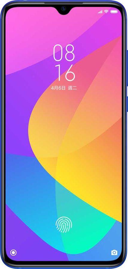 Смартфон XIAOMI Mi 9 Lite 64Gb,  синий аврора